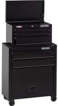 "Craftsman 1000 Series 26.5"" 5-Drawer Ball-Bearing Tool Chest/Rolling Cabinet"