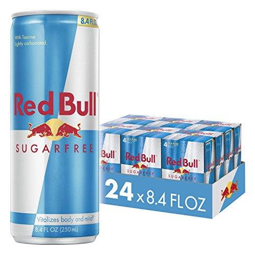 Red Bull 无糖款红牛功能饮料,8.4 oz/瓶,共24瓶