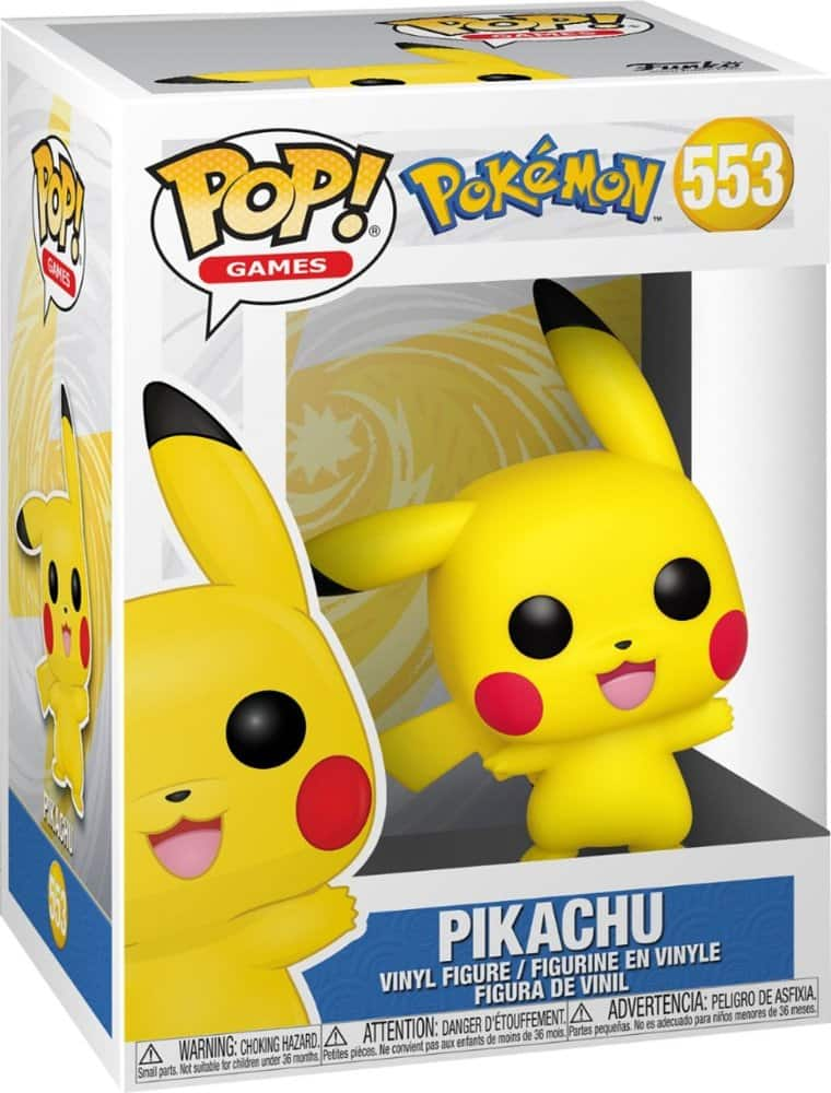 Funko Pop! Pokemon: Pikachu (Waving)