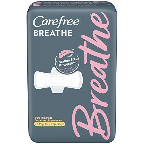 史低价!Carefree娇爽 Breathe系列 透气型护垫,32个装
