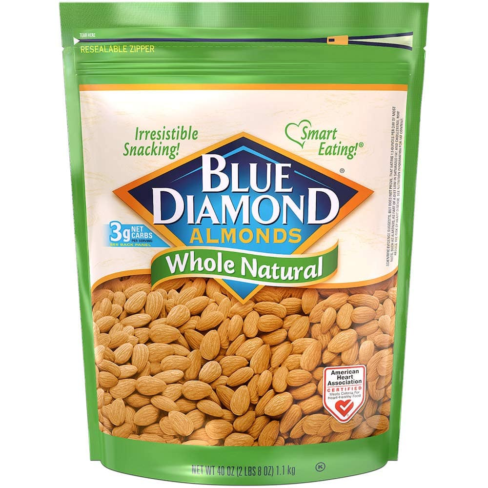 40oz Blue Diamond Almonds (Whole Natural)