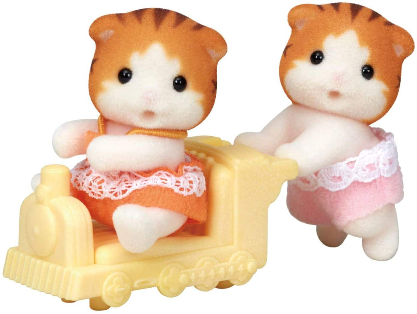 4-Pc Calico Critters Maple Cats Twin Set or 3-Pc Calico Critters Poodle Twins Set