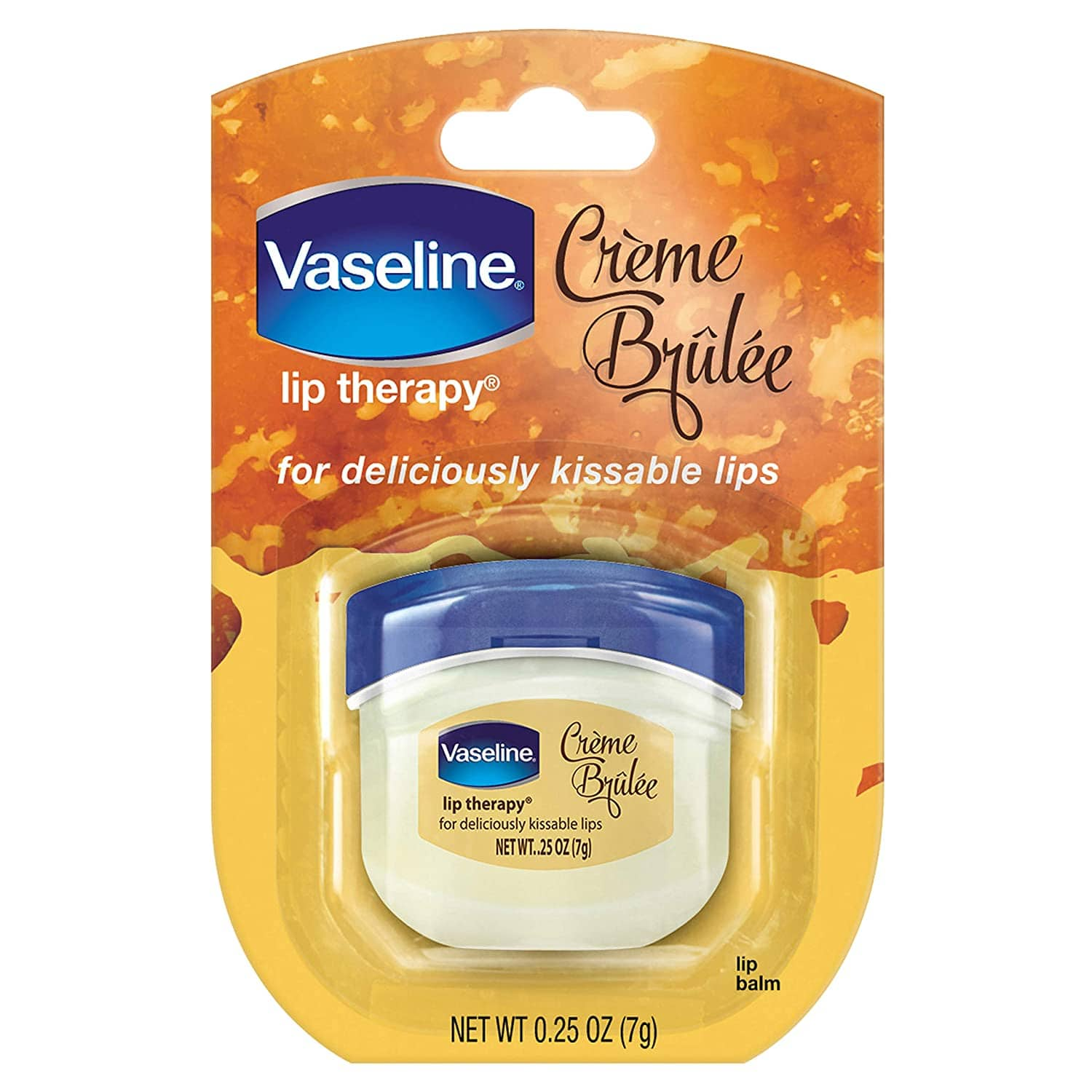 0.25-Ounce Vaseline Lip Therapy Moisturizer (Creme Brulee)