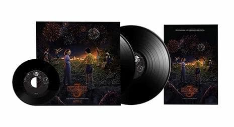 "Stranger Things Season 3 Original Soundtrack: Vinyl Set w/ Bonus 7"" Vinyl & Poster"