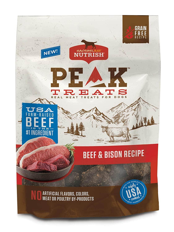 12-Ounce Rachael Ray Nutrish PEAK Grain Free Dog Treats (Beef & Bison)