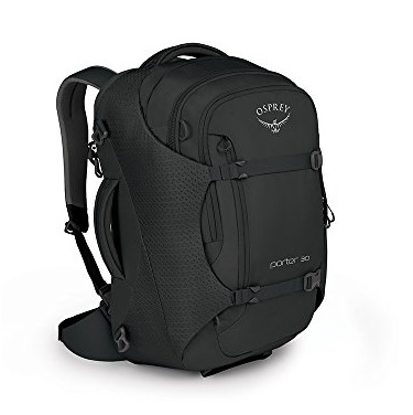 Osprey Packs Porter 30 Travel Backpack, Black, One Size