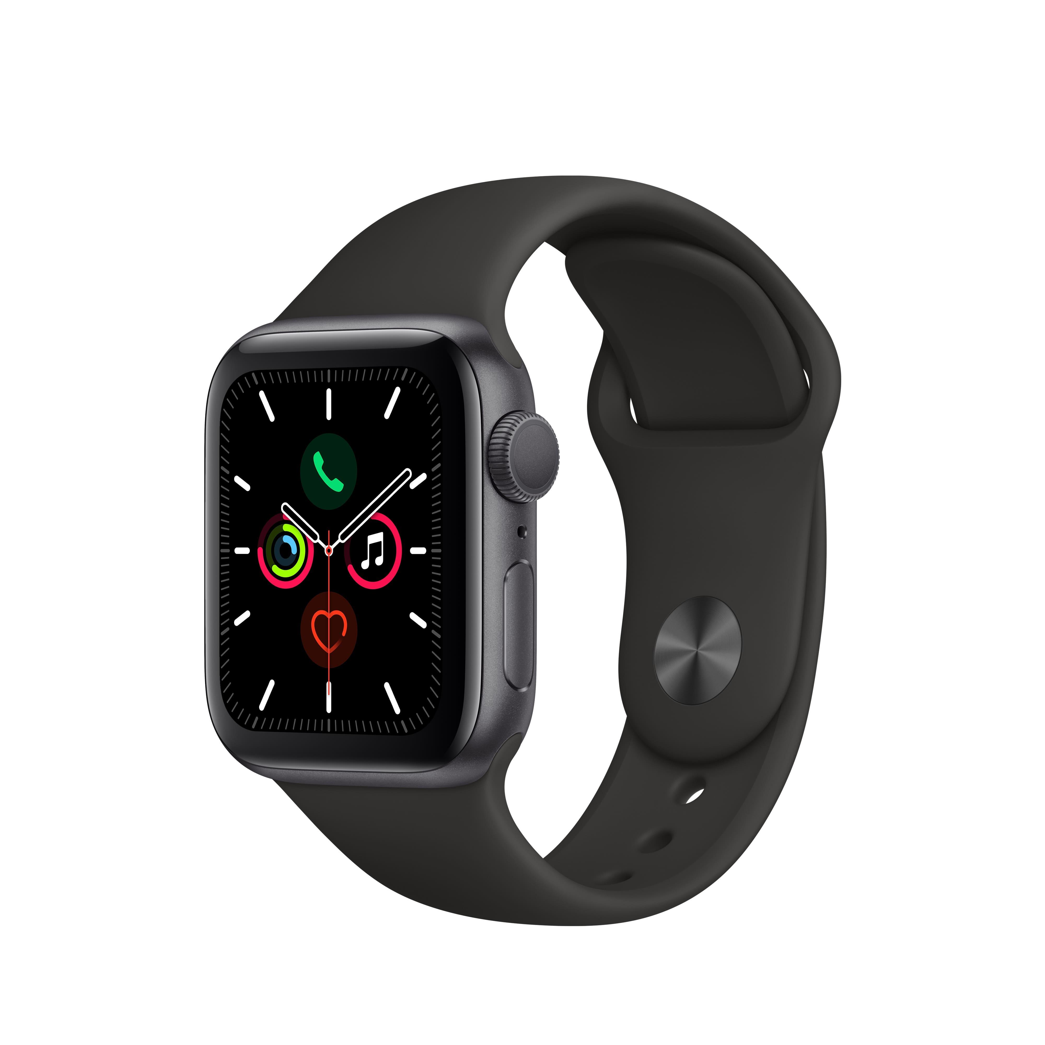 Apple Watch Series 5 GPS Smartwatch w/ Aluminum Case: 40mm