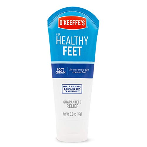 O'Keeffe's K0280004 for Healthy Feet Foot Cream, 3 oz, Tube, 1-Pack, Blue, 3 Ounce