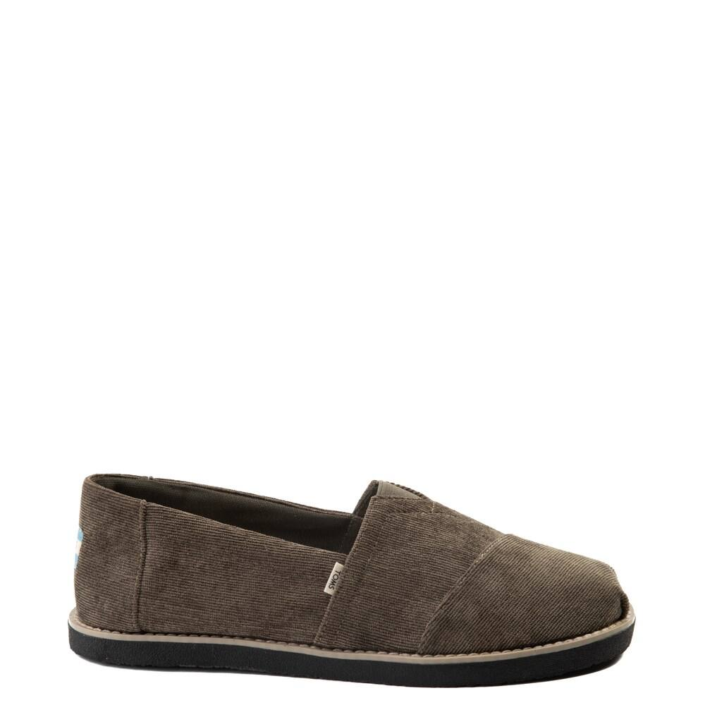 TOMS Men's Classic Crepe Slip-On Casual Shoes (Olive)