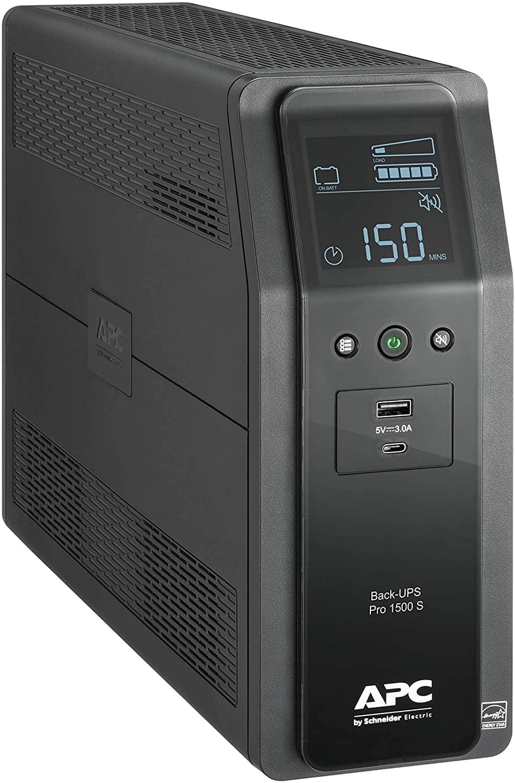 APC Back-UPS Pro BR 10-Outlet 1500VA SineWave Battery Backup