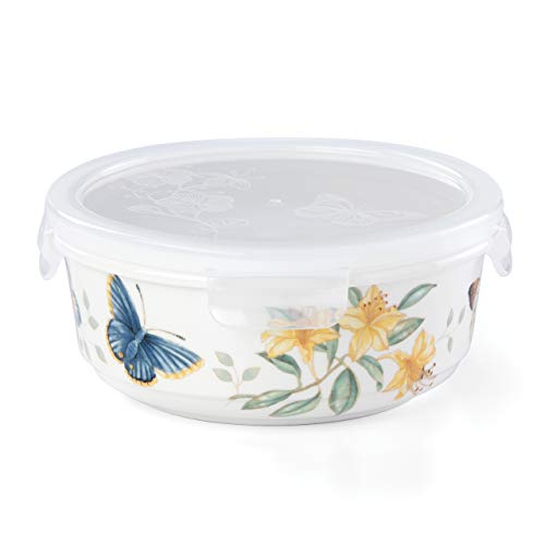 Lenox Butterfly Meadow Round Serve and Store, Large