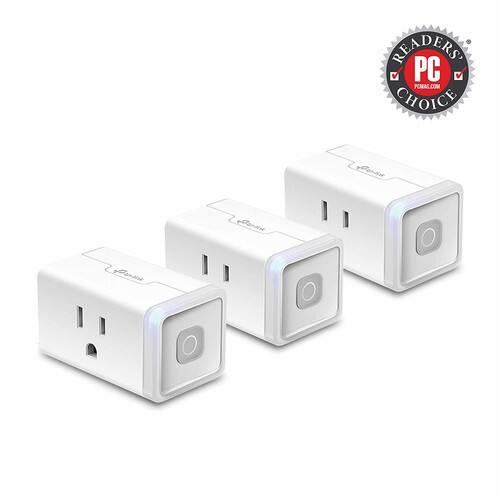 3-Pack TP-Link Kasa Smart WiFi Plug