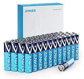 48-Count Anker AAA Alkaline Batteries