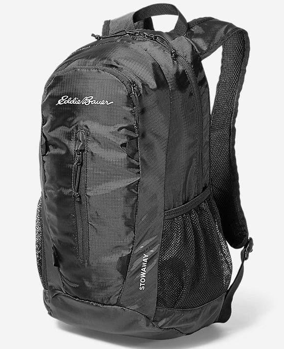 Eddie Bauer Stowaway Packable Bags: 30L Pack $12, 45L Duffel $12 or 20L Daypack