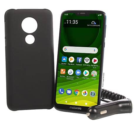 "Motorola Moto G7 Optimo Maxx 6.2"" Tracfone + 1500 Min/Text/Data"