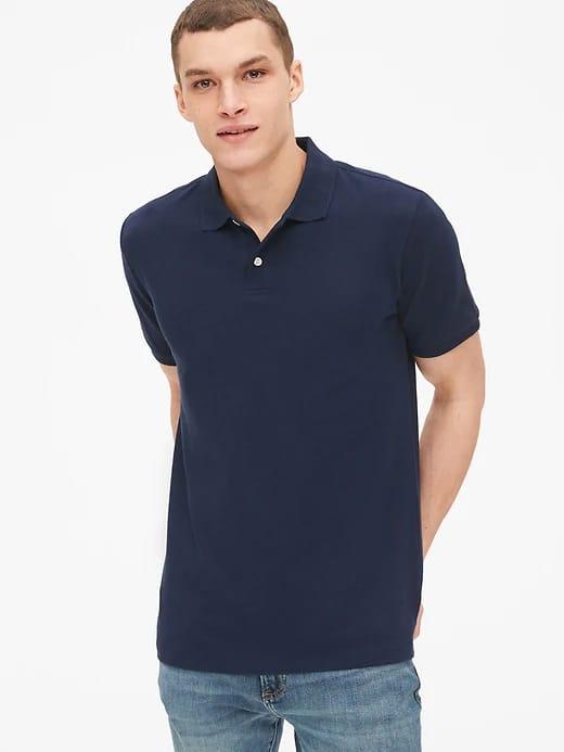 Gap.com: Women's Denim Jacket $25.20, Men's Poplin Shirts $13.30, Men's Pique Polo