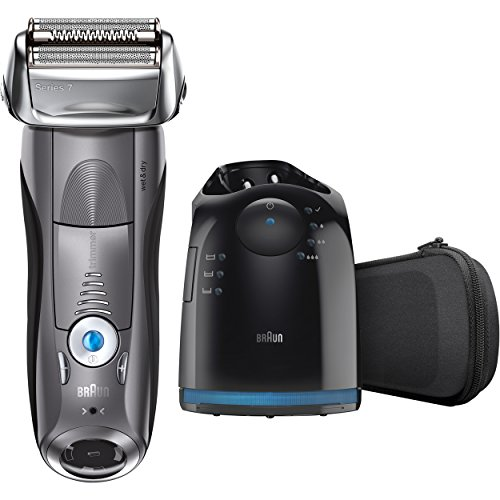 Braun Series 7 7865cc Wet & Dry Electric Shaver for Men with Clean & Charge System