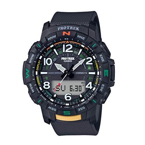 史低价!Casio 卡西欧 PRO TREK  PRT-B50-1CR 男士户外 运动手表