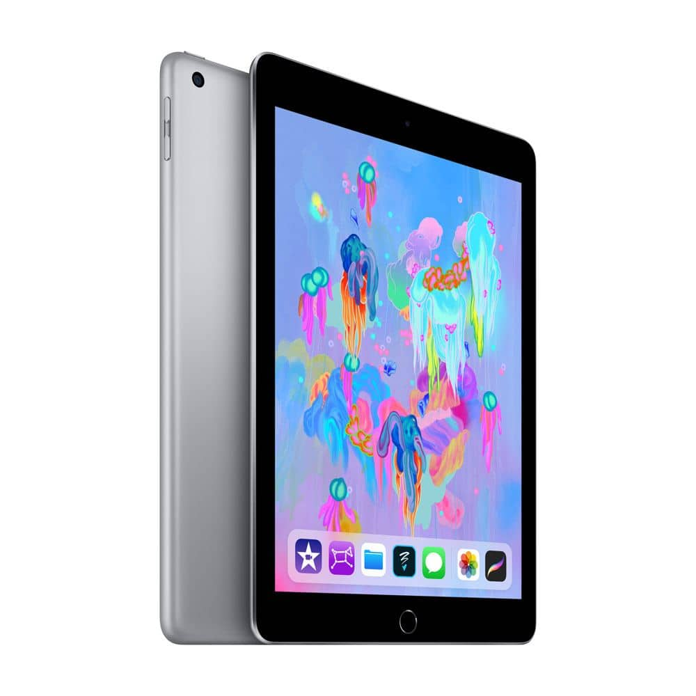 """128GB Apple iPad 7th Gen 10.2"""" WiFi Tablet (2019 Model)"""