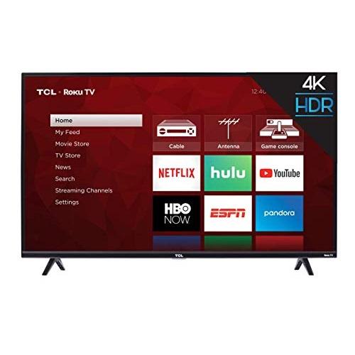 TCL 43S425   43吋  4K 超清晰 Roku 智能电视机