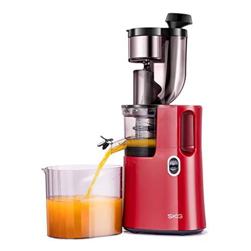 史低价!SKG 商用级 慢速原汁机 大口径全自动慢速榨汁机,现点击coupon后仅售