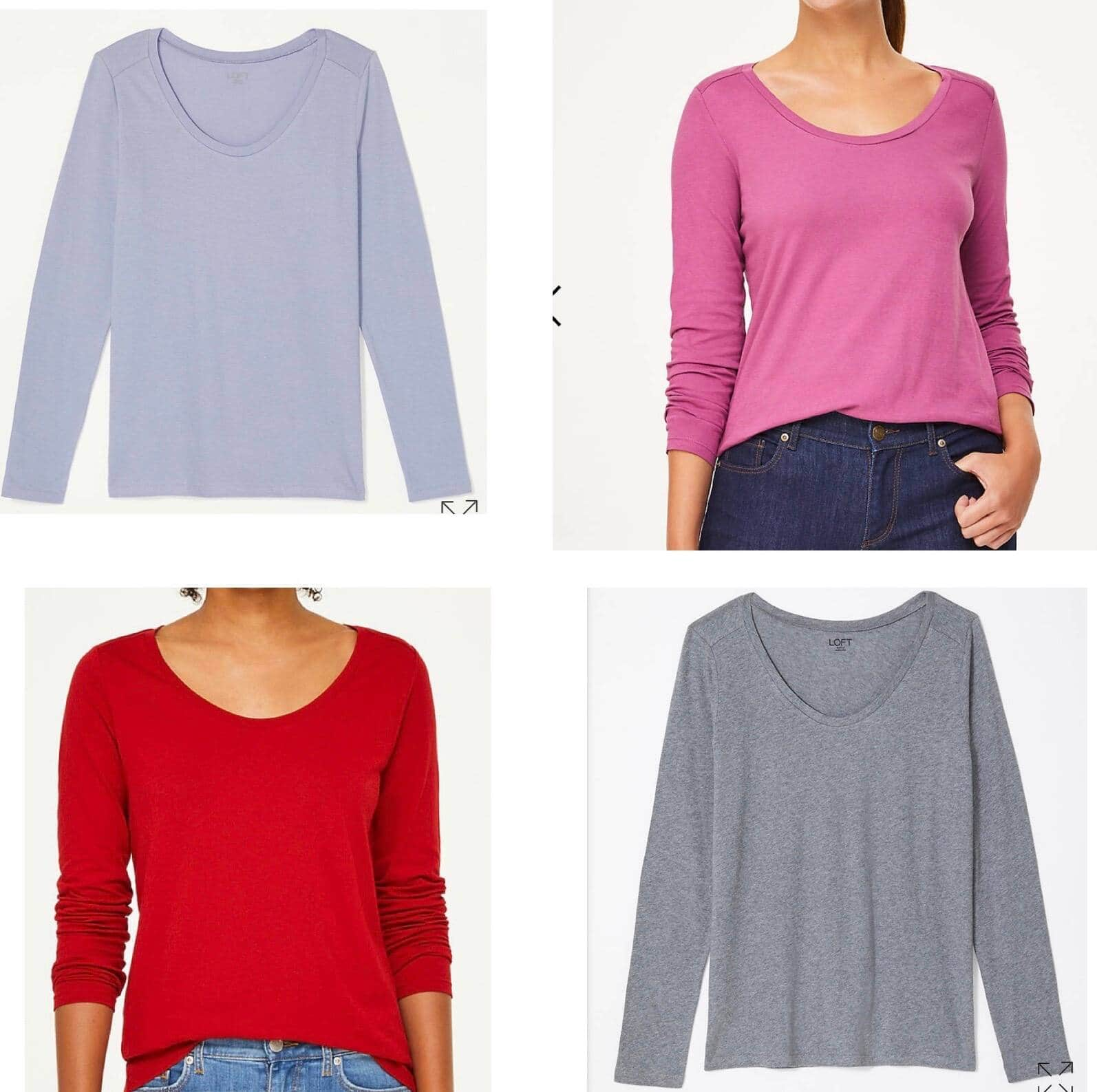 Loft Outlet Apparel: Extra 20% Off Clearance: Dresses from $13, Tops