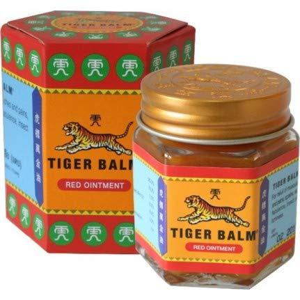 Tiger Balm 虎标万金油 红版 跌打损伤止痛软膏,30克