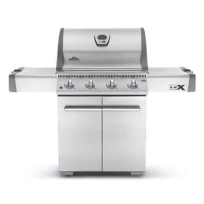 Napolean Stainless Steel 4-Burner Liquid Propane Gas Grill