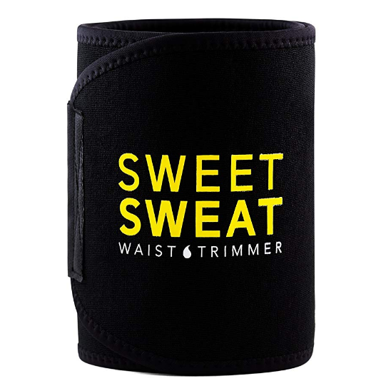 Sports Research Sweet Sweat Premium Waist Trimmer, for Men & Women. Includes Free Sample of Sweet Sweat Gel!