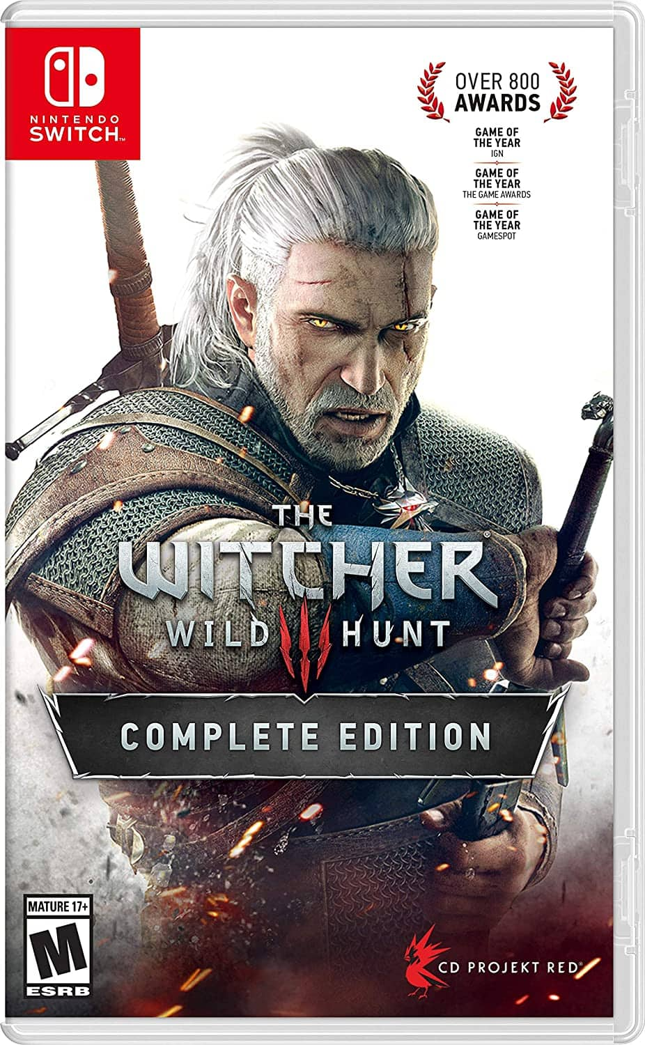 Witcher 3: Wild Hunt Complete Edition (Nintendo Switch)
