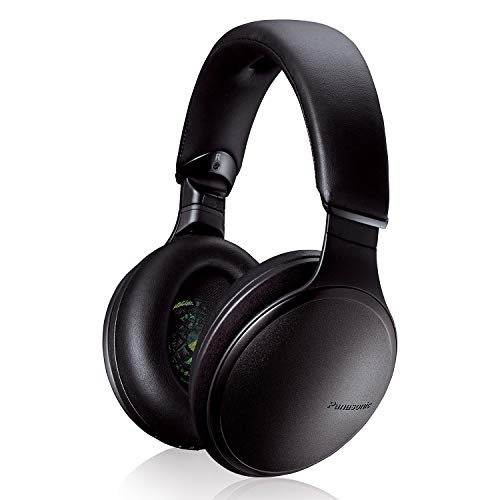 Panasonic Noise Cancelling Over The Ear Headphones with Wireless Bluetooth, Alexa Voice Control & Other Assistants - Black (RP-HD805N-K), Onl