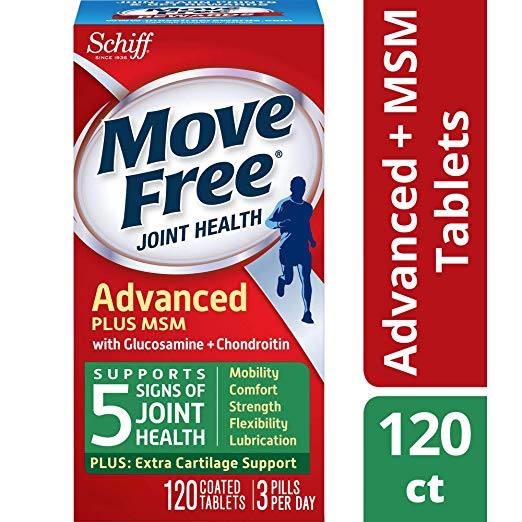 Move Free Joint Health Supplement Tablets, (120 count in a bottle)