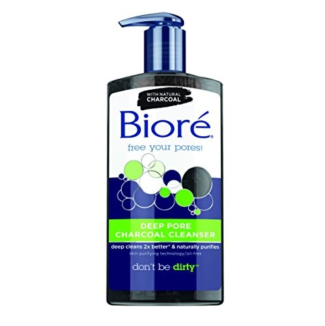 Bioré Deep Pore Charcoal Cleanser for Oily Skin, 6.77oz