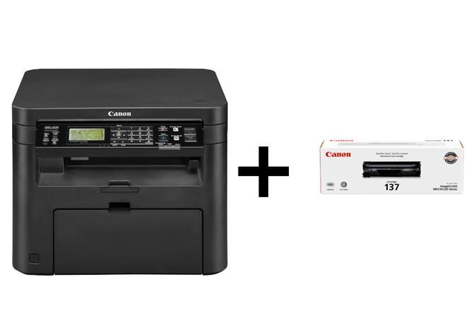 Canon Laser Printers w/ Extra Full Size Toner (Refurb): MF743Cdw $262, D570