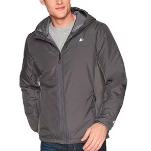 Starter Men's Insulated Breathable Jacket, Amazon Exclusive