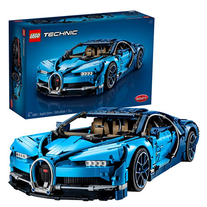 LEGO Technic Bugatti Chiron 42083 Race Car Building Kit and Engineering Toy
