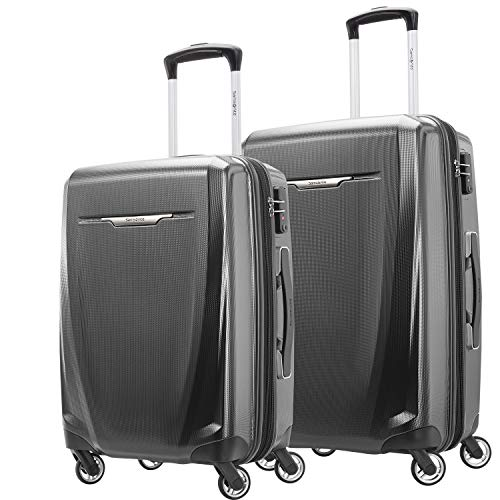Samsonite Winfield 3 DLX Hardside Expandable Luggage with Spinners,2-Piece Set (20/25)