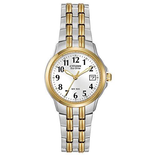 仅限今日!Citizen西铁城EW1544-53A光动能系列女士时尚腕表