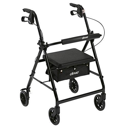 Drive Medical 铝制可折叠轮式助行推车