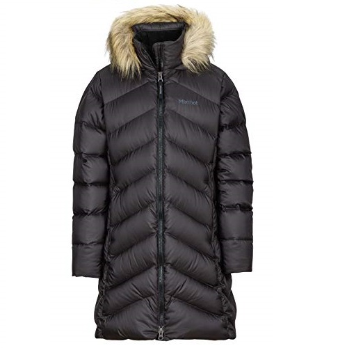 Marmot Girls' Montreaux Full-Length Down Puffer Coat