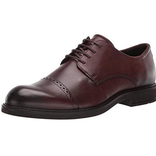 速抢!ECCO 爱步 Vitrus III 唯图系列 雕花版 男式牛津鞋/正装鞋