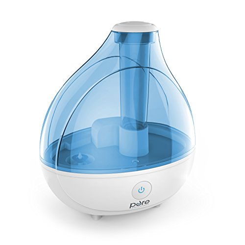 Pure Enrichment MistAire Ultrasonic Cool Mist Humidifier - Premium Humidifying Unit with Whisper-Quiet Operation, Automatic Shut-Off