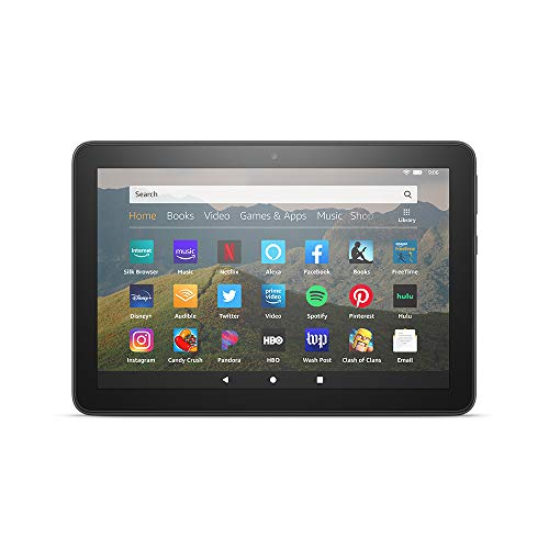 "All-new Fire HD 8 tablet, 8"" HD display, 32 GB, designed for portable entertainment"