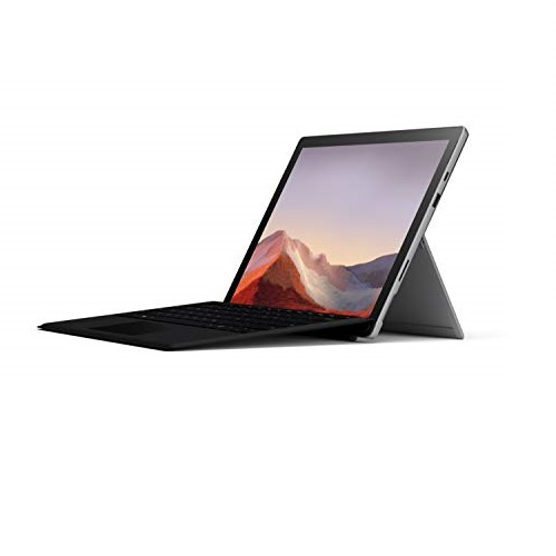 "NEW Microsoft Surface Pro 7 – 12.3"" Touch-Screen - Intel Core i7 - 16GB Memory - 256GB Solid State Drive (Latest Model) – Matte Black with Black Type Cover"