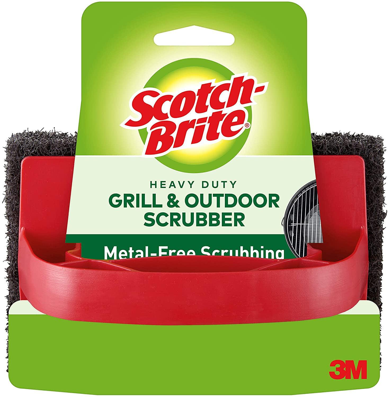 3M Scotch-Brite Heavy Duty Grill Scrubber                                                         3M Scotch-Brite Heavy Duty Grill Scrubber