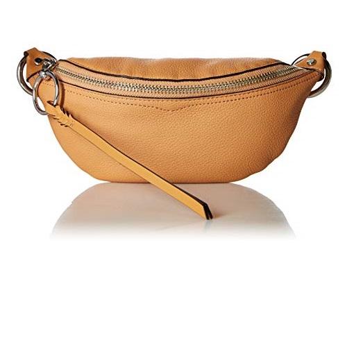 Rebecca Minkoff Women's Bree Mini Belt Bag, Honey, One Size