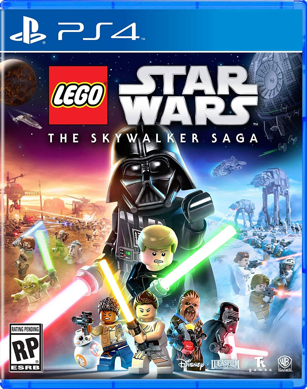 LEGO Star Wars: The Skywalker Saga! for PS4, XB1, or Switch