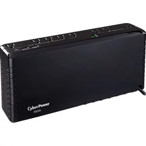 CyberPower SL700U Standby UPS System, 700VA/370W, 8 Outlets, 2 USB Charging Ports, Slim Profile