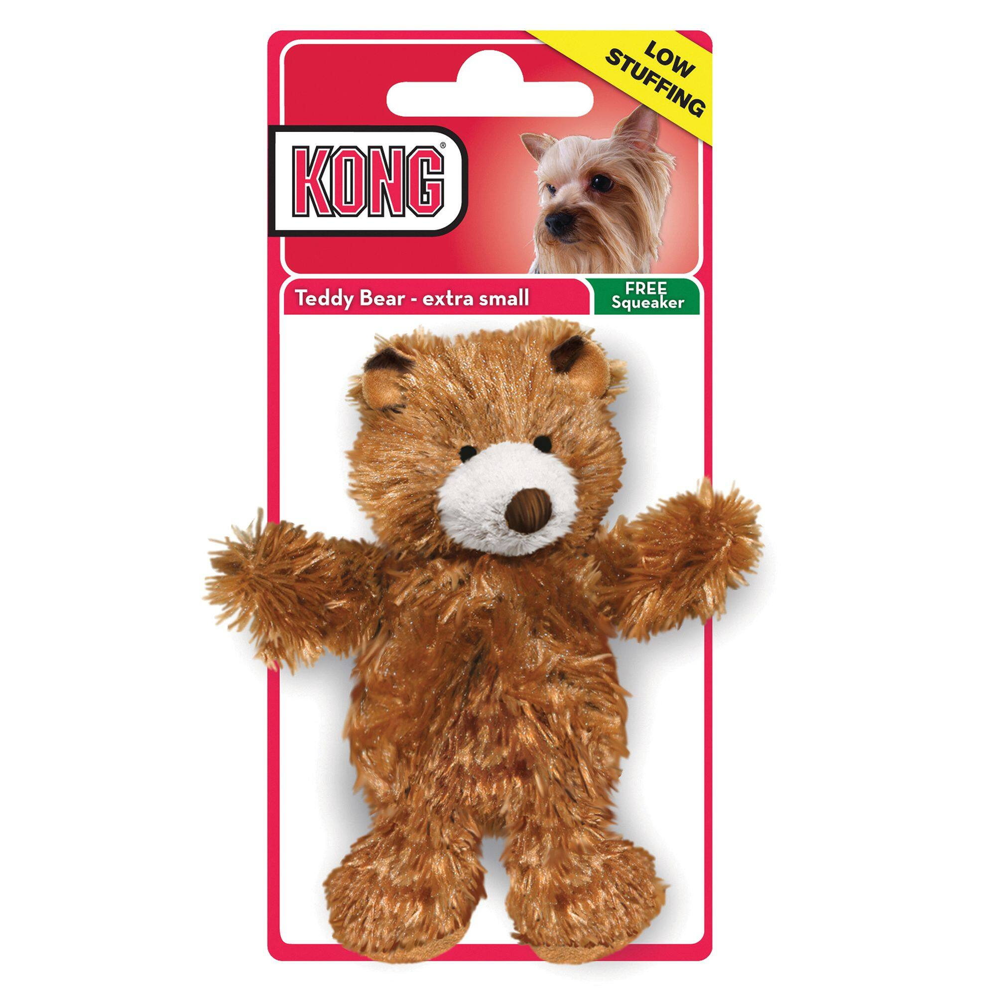 KONG Teddy Bear Dog Toy (Extra Small)