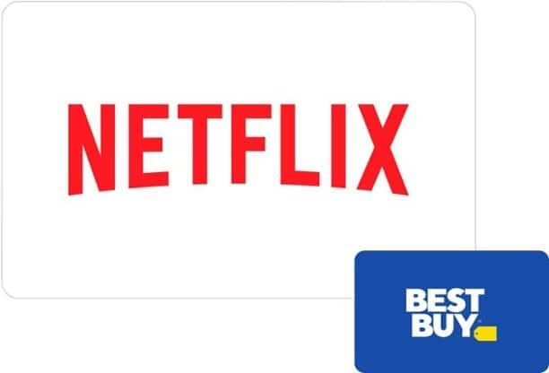 $100 Netflix eGift Card + $10 Best Buy eGift Card (Digital Delivery)